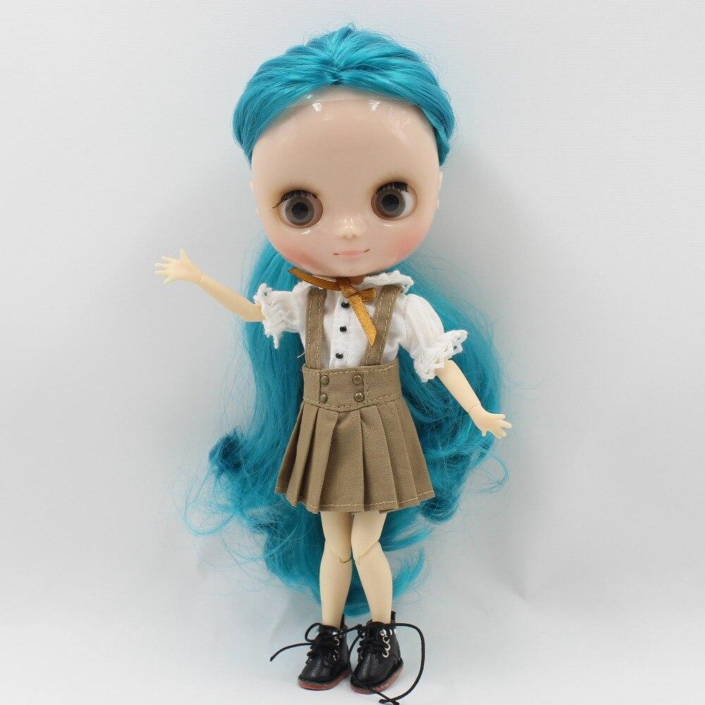 Middie Blythe Doll White Shirt Brown Skirt Uniform 1