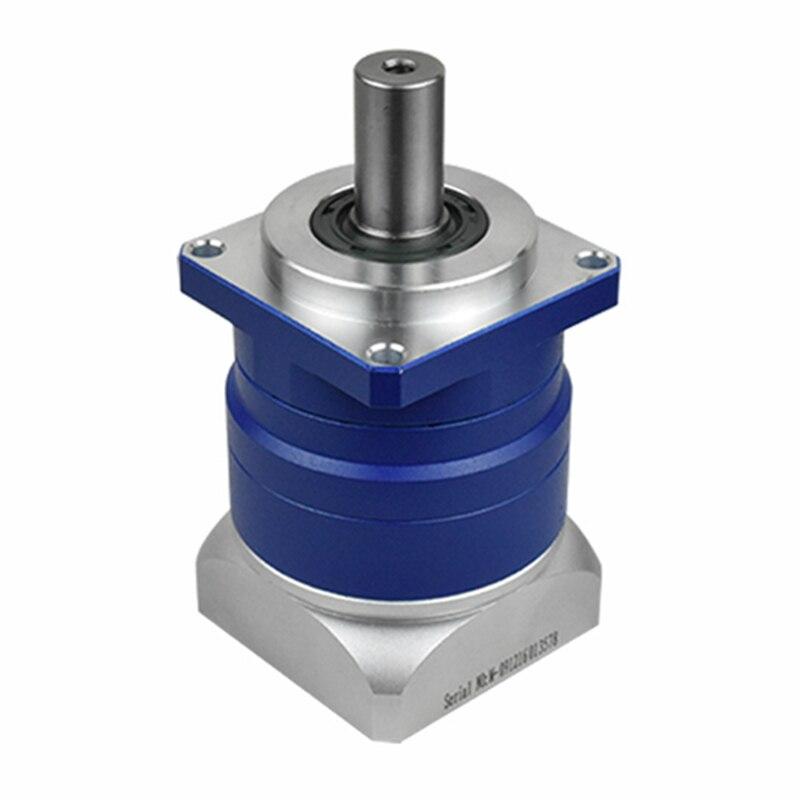 Высокая точность винтовой Планетарный Редуктор 3 угл соотношение 3:1 до 10:1 для NEMA23 шаговый двигатель входной вал 1/4 дюйма 6,35 мм