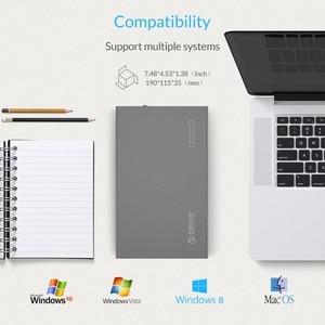 Image 5 - オリコ 3.5 8 Aluminum HDD ケース SATA 3.0 に USB 3.0 Hdd ケース Supprt 10 テラバイトハードドライブ 6 5gbps UASP USB ケースと 12V 電源アダプタ