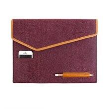 Wool Felt Envelope Cover 12 13 14 Inch Protective Laptop Bag Sleeve Case for Apple Macbook Air Pro Retina 11.6 13.3 Notebook Bag
