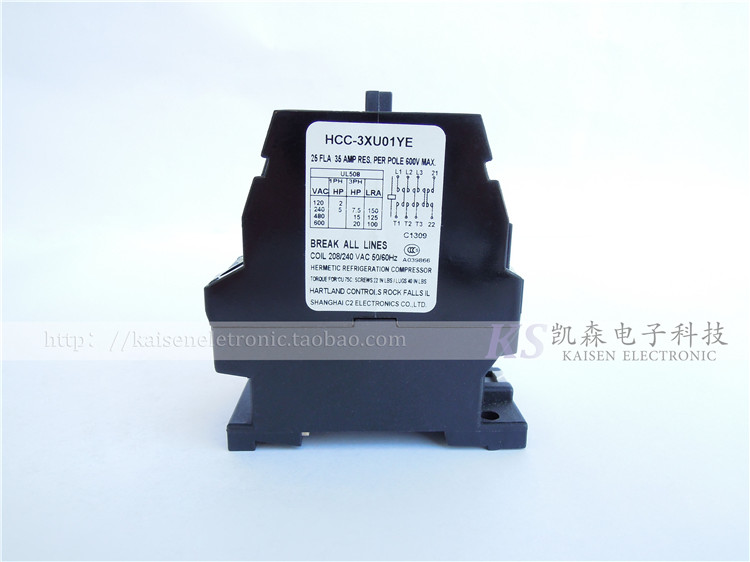 Supply 208V 240V 25A 4NO HCC 3XU01YE four normally open contact AC contactor|Power Tool Accessories| |  - title=