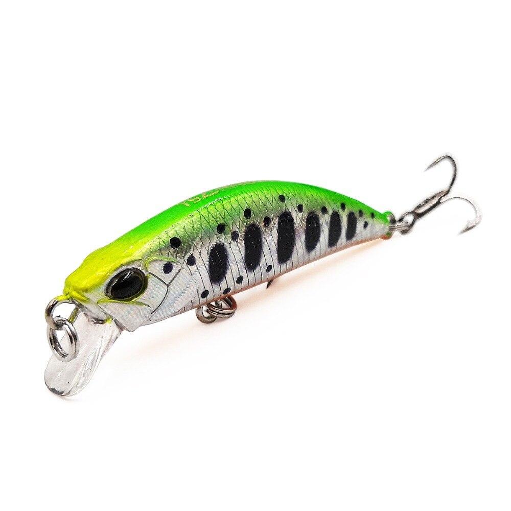 42mm Fishing Lure Mini RICE Trout Wobbler Freshwater Minnow Artificial Hard Bait