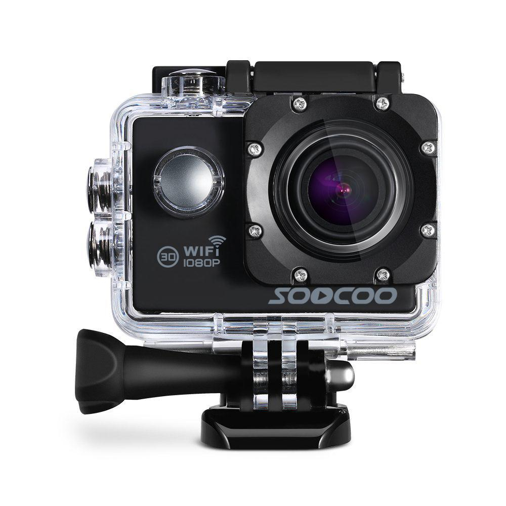 SOOCOO C10S 2 Action Camera Sports Camera Camcorder Portable Premium 1080P Full HD DV 170 Degrees Wide Angle WIFI Remote soocoo c50 4k hd wifi sport action camera 2 inch lcd screen 12mp camcorder with waterproof case 170 degrees wide angle lens