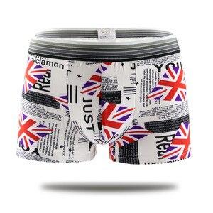 Image 5 - 7pcs/lot Sexy underwear  boxer Men Shorts   Mens Clothing boxers panties shorts Sexy fat guy  mens shorts Print Cartoon