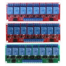 цена на 8 Channel Relay Module High and Low Level Trigger Relay Control with Optocoupler