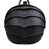Genuine Leather Backpack Men Women Unisex Beatles Backpack Bag High Qualit New Style Personality Fashion Street Labtap Backpack