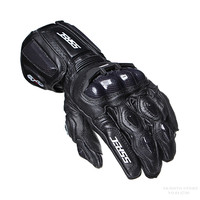 SSPEC Carbon Fiber Motorcycle Gloves Leather Glove Men Cycling Racing Guantes Moto Motorbike Luvas ATV MTB