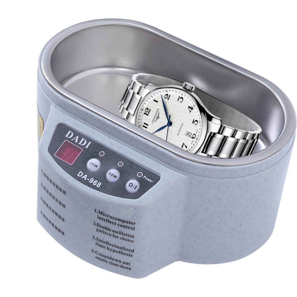 Portable Ultrasonic Cleaner Jewelry Glasses Circuit Board Cleaning Machine Intelligent Control Ultrasonic Cleaner Bath