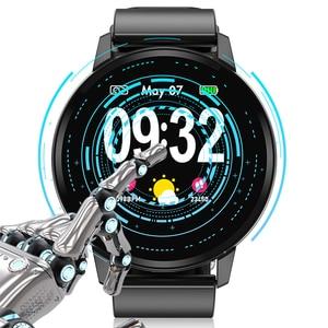 Image 5 - LIGE inteligentna bransoletka mężczyzna kobiet IP67 wodoodporny zegarek do Fitness pełny ekran dotykowy ekran może kontrolować Playback dla androida ios