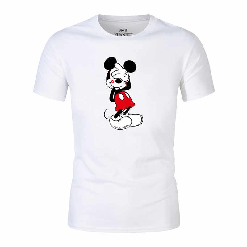 Hombres 2018 Cachorro Nueva Mouse 3d Camiseta El Llegada Mickey wkOPn0