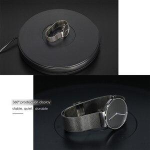 """Image 5 - Photo Studio 10 """"25cm 360 degrés plaque tournante électrique avec lumière Led pour la photographie, charge maximale 10kg, 220V / 110V"""