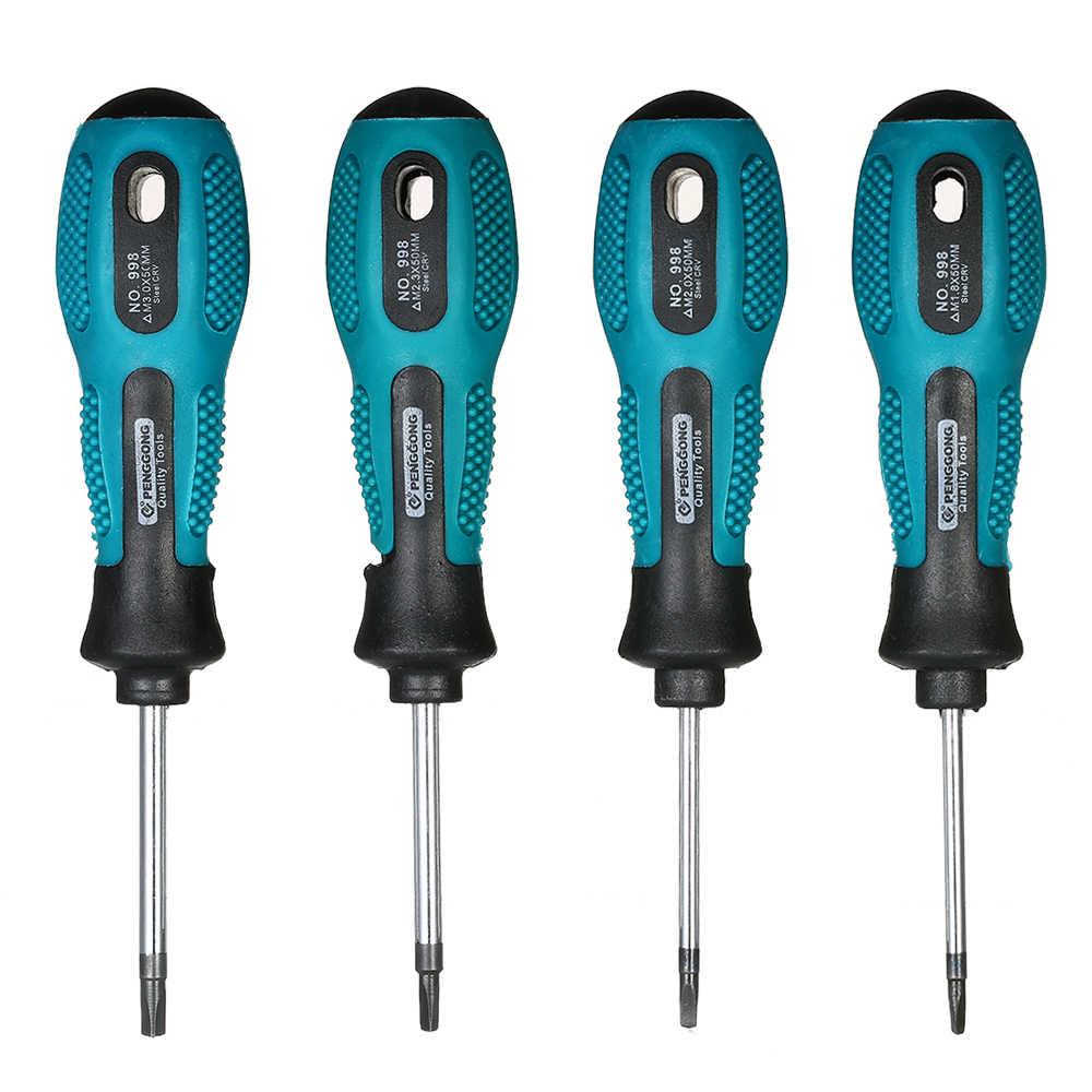 4PCS/Set Screwdriver Set U/Y/Triangle Type Magnetic Screw Driver Bit Set Screwdriver Home Repair Tools Kit for Hand Tool