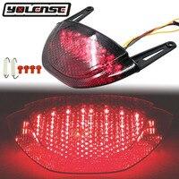 Motorcycle Rear Tail Light Brake Turn Signals Integrated LED Light For Honda CBR600RR CBR 600 RR 2007 2008 2009 2010 2011 2012