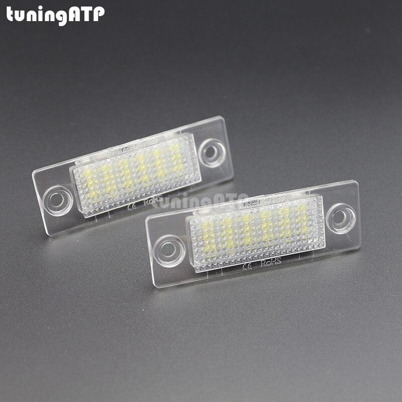 18-SMD LED Kennzeichen Licht Lampe Modul für SKODA Superb Mk1