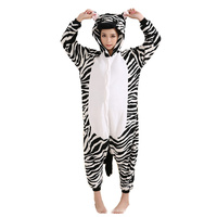 DOUBCHOW Adults Womens Mens Zebra Costume Pajama Halloween Cosplay 2016 Onesies Unisex Teenagers Girls Boys Cartoon Lounge Wear