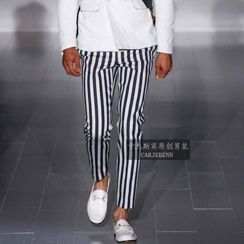 Popular Striped Trousers Men-Buy Cheap Striped Trousers Men lots ...