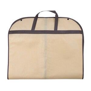 Image 3 - 2019 пылезащитный чехол для костюма сумка Портативная дорожная деловая складная сумка для одежды для дома защитная сумка AC025