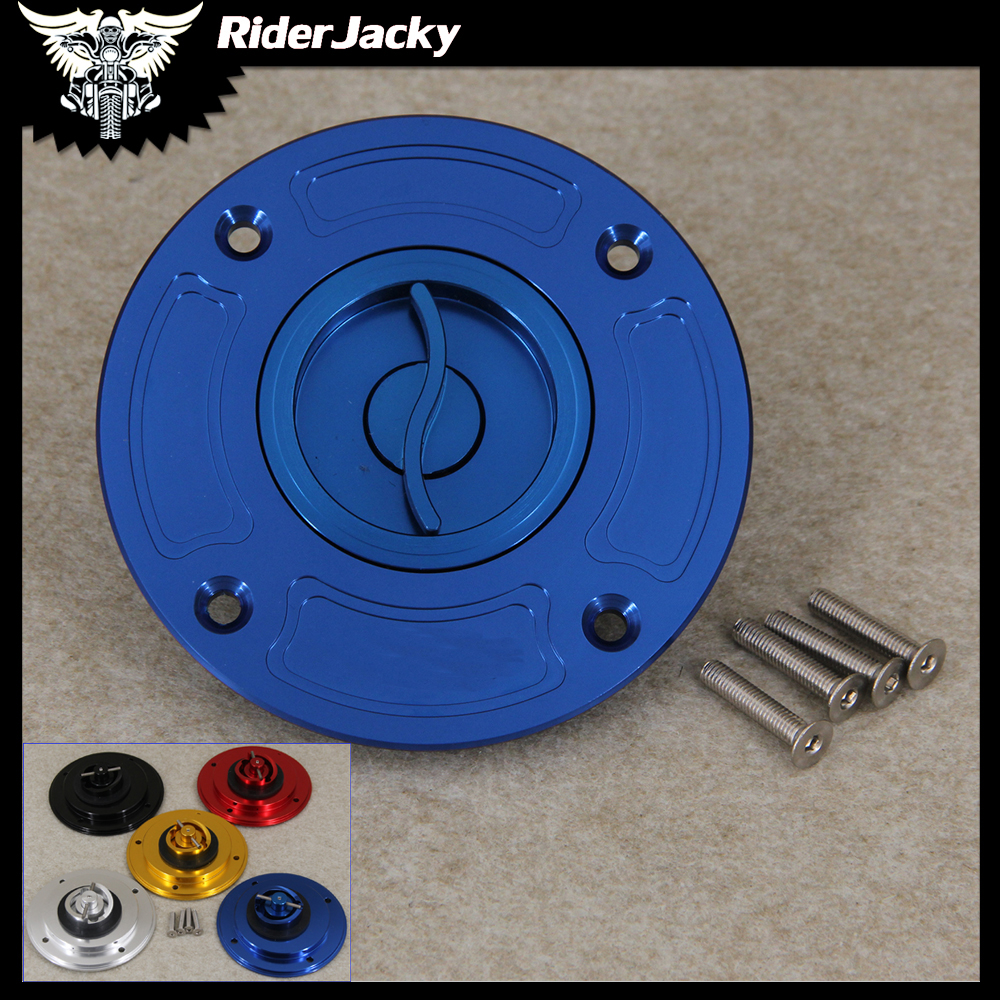 Motorcycle Keyless Motorcycle Gas Cap Fuel Tank Cap Cover For <font><b>Suzuki</b></font> <font><b>GSXR</b></font> <font><b>600</b></font> 1997-2003 1998 1999 2000 2001 <font><b>2002</b></font> image