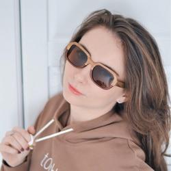 BOBO BIRD Handmade Polarized Wood Sunglasses For Women With Creative Special Design Beach Sunglass In Wood Gift Box C-DG02