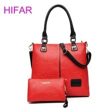 Fashion 2 Sets Luxury Handbags Women Bags Designer Shoulder Bag Female Letter Print Composite Bag Sac A Main Femme De Marque