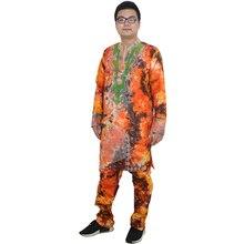 MD אפריקאי גברים בגדי bazin riche האפריקאי שמלות לגברים אפריקה גברים של בגדי חולצות למעלה מכנסיים סט גברים אפריקאי דאשיקי חליפה