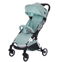 Luxury Lightweight Baby Stroller Folding Baby Car High Landscape Children Pushchair Pram Strollers For Portable Baby Trolley цена и фото