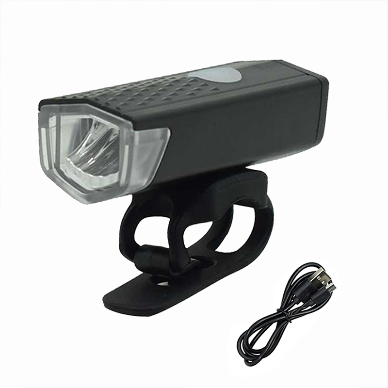 Outdoor Led USB Rechargeable Bike Flashlight Front Lamp Headlight Bicycle Light/_