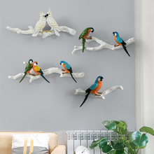 Parrot  bird wall decoration  indoor wall decoration wall decoration  creative  decoration  modern simplicity