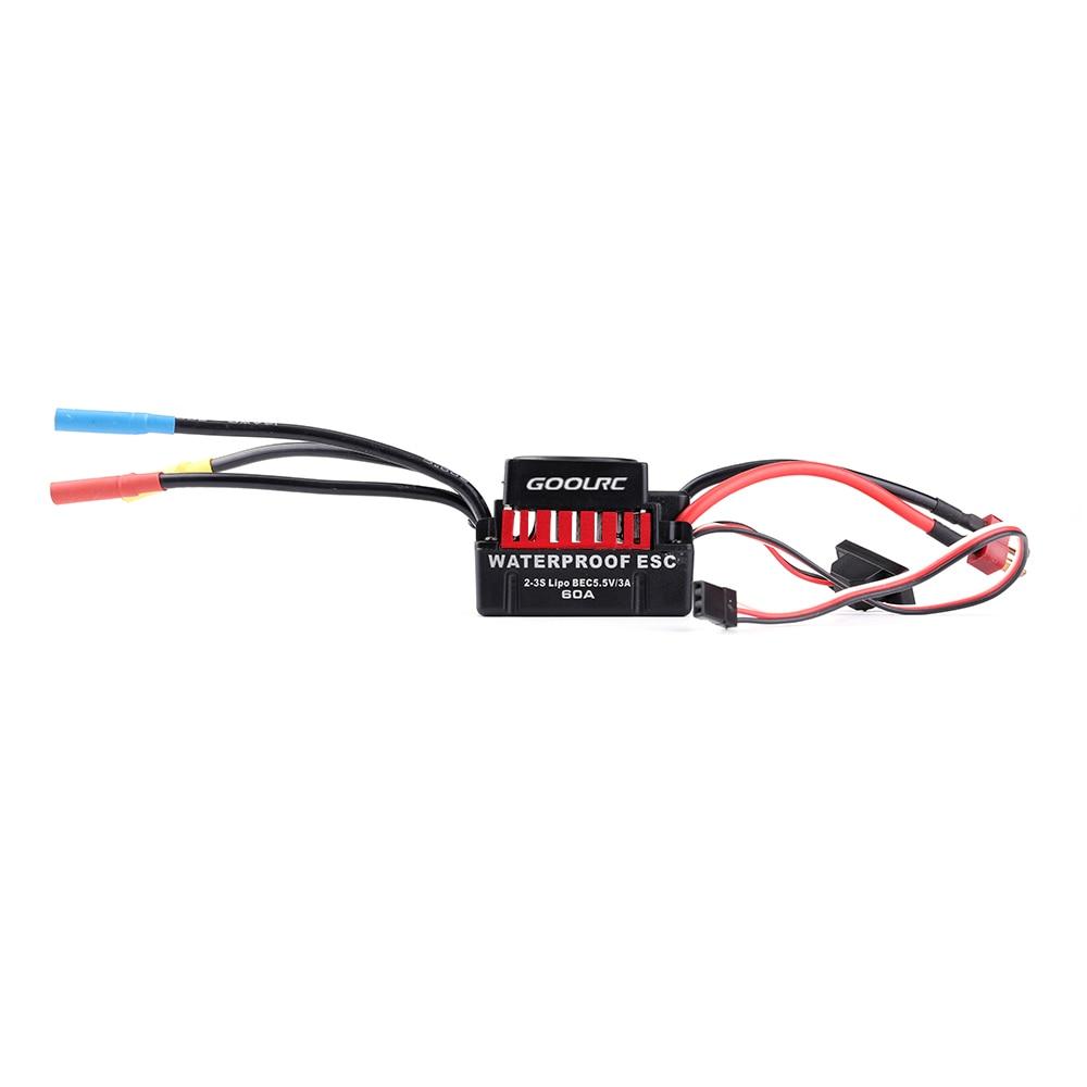 original goolrc s3650 4300kv sensorless brushless motor 60a brushless esc and program card combo