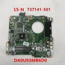 Для 15-N 15Z-N Материнская плата ноутбука 737141-501 737141-601 737141-001 DA0U93MB6D0 DDR3 работает хорошо