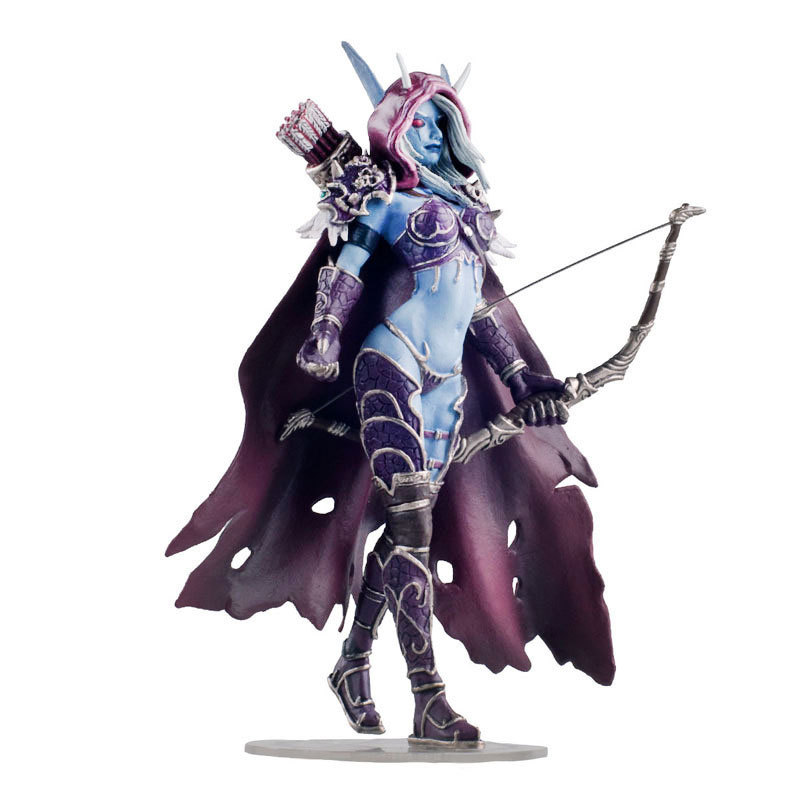 7 Inch Undead Queen Anime Figure World Of Warcraft Windrunner Sylvanas Home Decoration Accessories Game Figure Toys