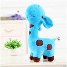 18cm Unisex Cute Gift Plush Giraffe Soft Toy Animal Dear Doll Baby Kid Child Christmas Birthday Happy Colorful Gifts5 colors