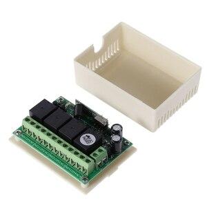 Image 5 - 4 канала постоянного тока, 12 В, 433 МГц, беспроводной выключатель дистанционного управления, интегральная схема с 2 передатчиками