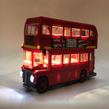 цены Led Light Set For Lego technic 10258  London bus bricks set Compatible 21045 Blocks Toys technic London buses Lighting Set