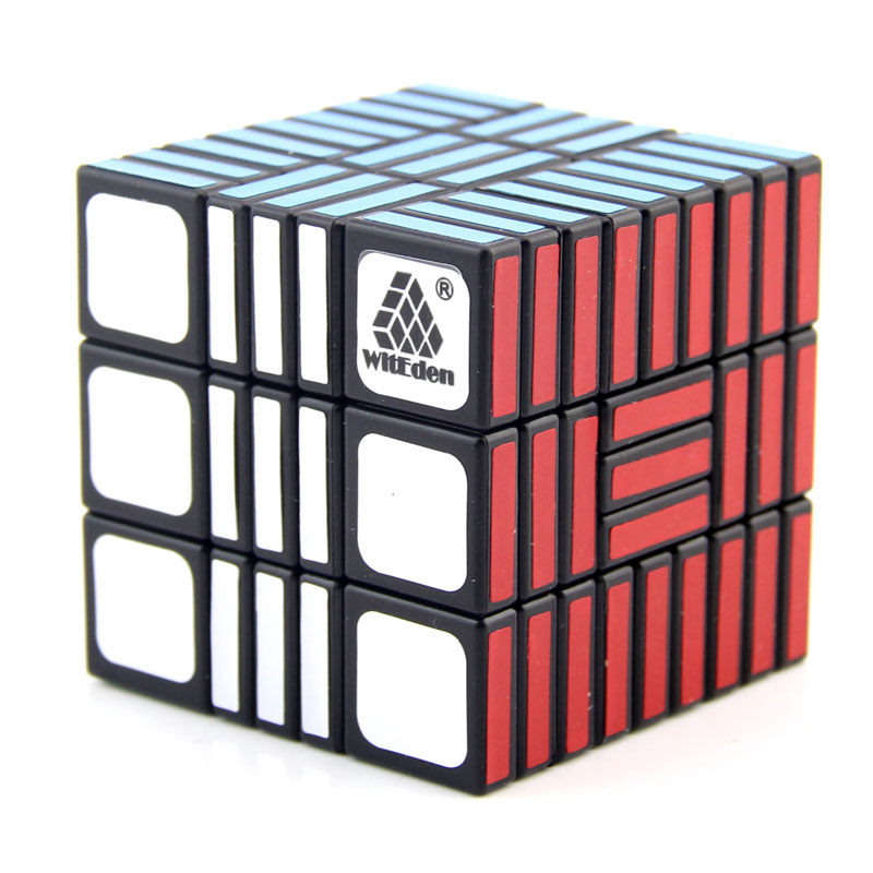 WitEden Smooth Roadblock III Magic Cube Professional Speed Puzzle Road Block Cube Educational Toys For Children Cubo Magico