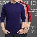 Осень и зима новый плоский шею мужская теплый мужской свитер кашемировый свитер