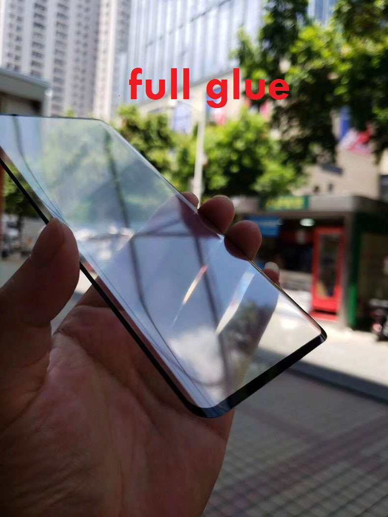 3D Curved Clear Full Glue Tempered Glass For <font><b>Oppo</b></font> Find X Full Adhesive Screen Protector For <font><b>Oppo</b></font> Find X Glass Case Friendly