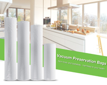 500cm 1 Roll Fresh-keeping Bag Of Vacuum Sealer General Food Saver Bag Food Storage Bags Packaging Film Keep Fresh Good Sealing