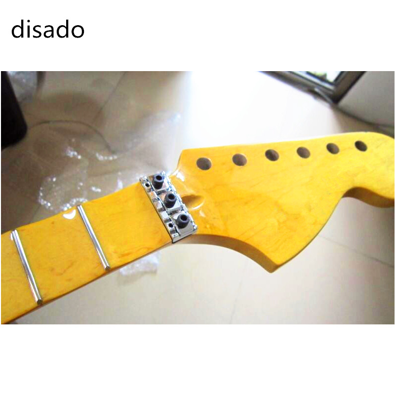disado 21/22 Frets concave fingerboard maple big headstock Electric Guitar Neck Guitar accessories Parts musical instruments