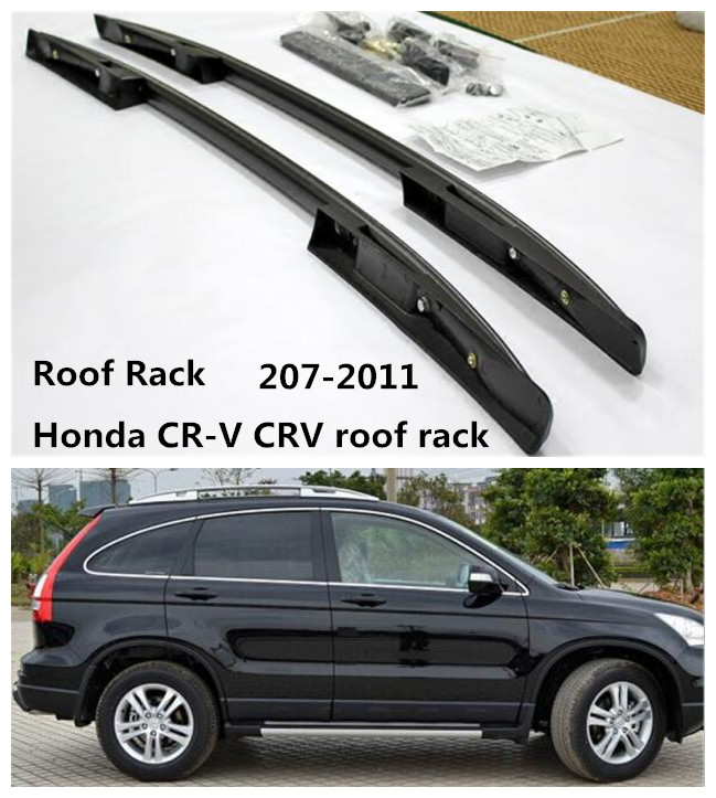 High Quality Roof Rack For Honda CR V CRV roof rack 207 2011 Auto top Luggage Racks Rails Carrier Bars Aluminum alloy