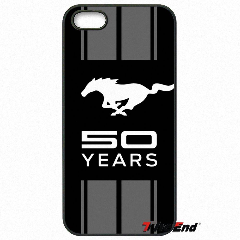 67caf4fc40 Ford Mustang Boss Car logo Stampa Copertura Della Cassa Del Telefono Per  Samsung Galaxy Note 2 3 4 5 S2 S3 S4 S5 MINI bordo Attivo S6 S7 S8 Plus in  Ford ...