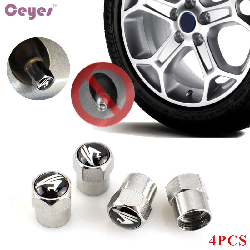 Ceyes Excellent Auto Accessories Car Styling Case For Toyota Harrier Camry Avensis Rav4 Car-Styling Car Emblems Sticker 4pcs/lot
