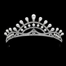 Высокое Качество, Свадебные Венцы Старинные Жемчужные Диадемы Женщины Театрализованное Головной Убор с Кристаллами Rhinestone SHA8727