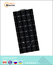 AU/RU/UA/Stock 100 Vatios de CA 100 W 12 V Monocristalino semi de 12 Voltios flexible panel Solar kits casa de camping RV yate Coche Techo pared