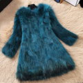 autumn and winter women's coat coat snow coat thick code large fur fur raccoon coat 5 days to delivery time