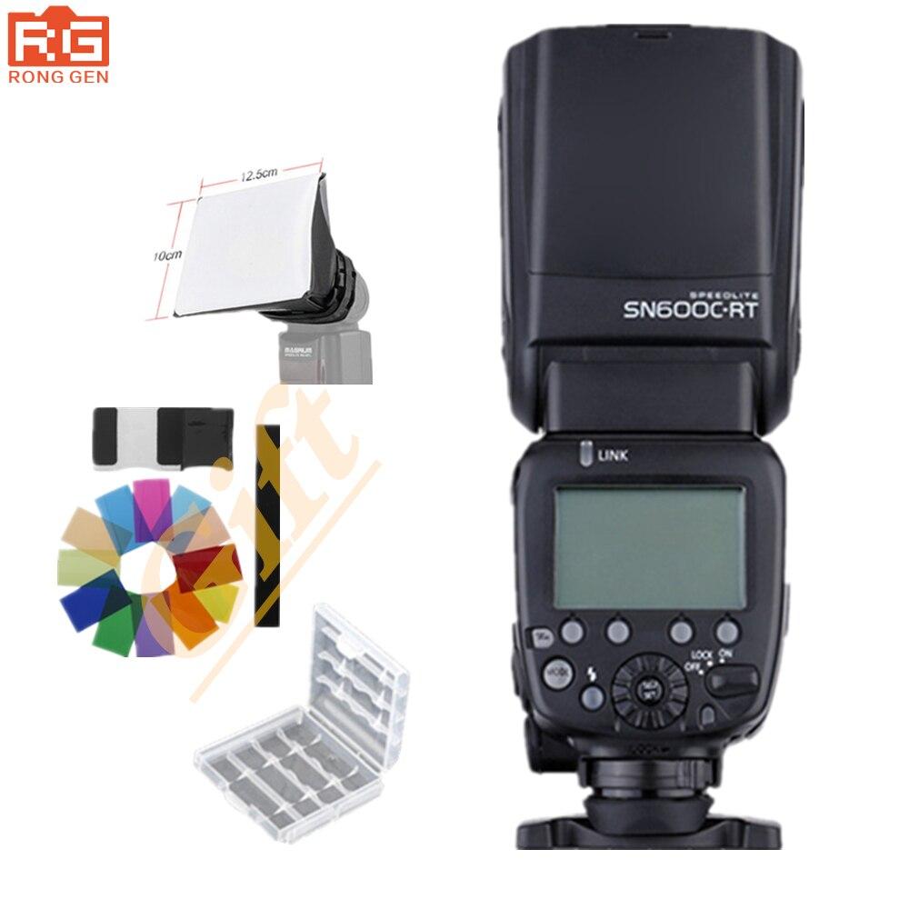 Shanny SN600C RT Wireless Radio TTL Slave Flash camera Speedlite for Canon RT 600EX RT Speedlite
