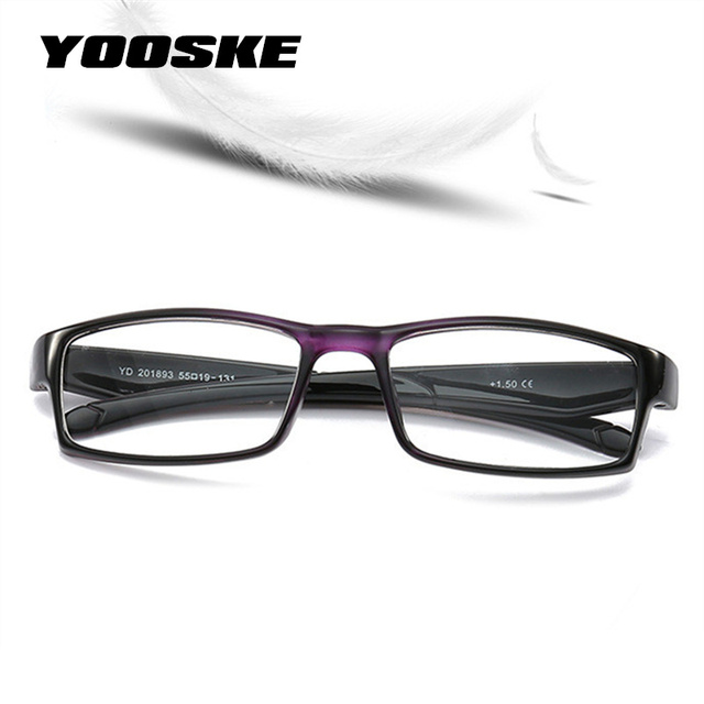 20ff5359cc YOOSKE 2018 Fashion Ultra Light Reading Glasses Men Women Presbyopic Reading  Glasses +1.0 1.5 2.0 2.5 3.0 3.5