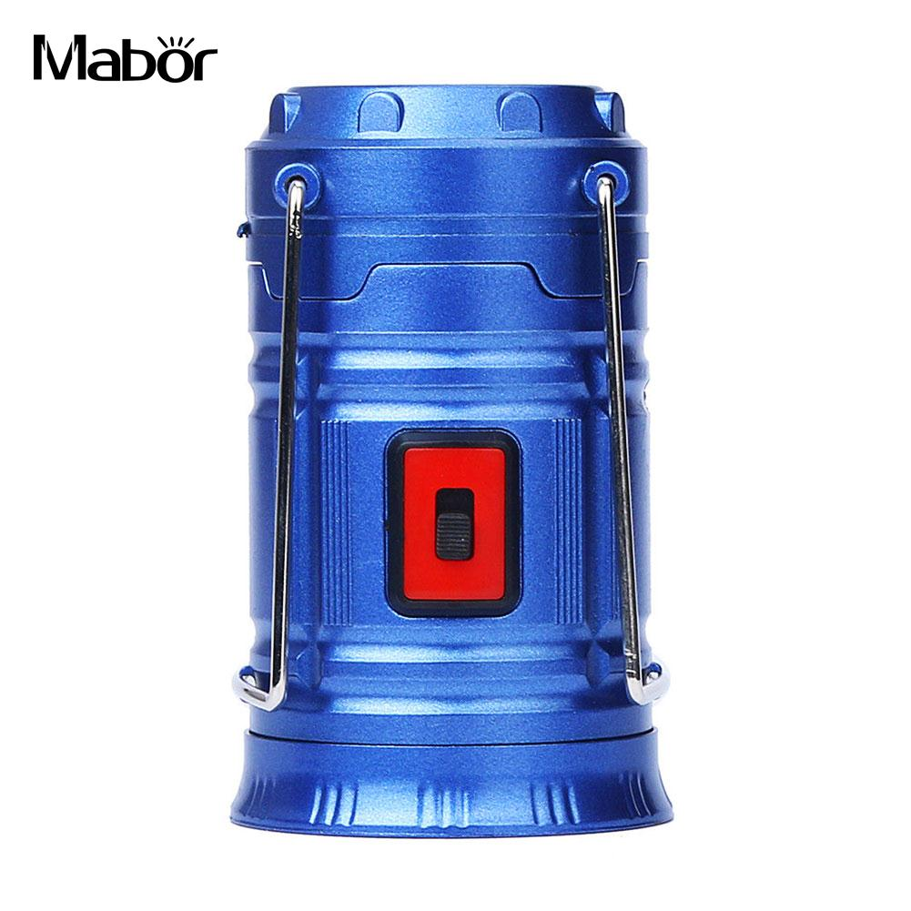 Portable Camping Lantern Emergency Light Sports Lamp Lights Lamp COB LED Super Bright Rechargeable