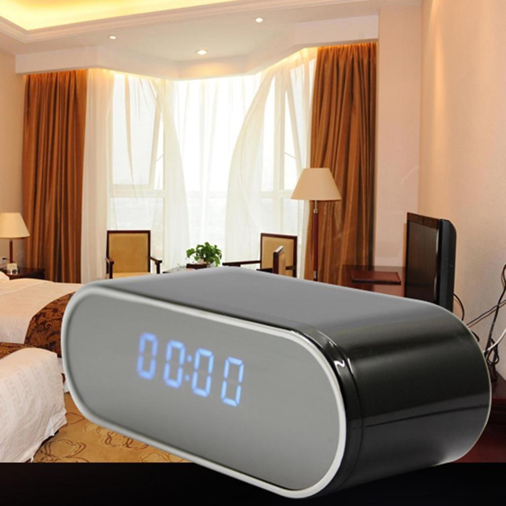 Mini Camera Clock 1080 HD DV DVR Mini Camcorder Alarm IR Motion Detection Wifi IP