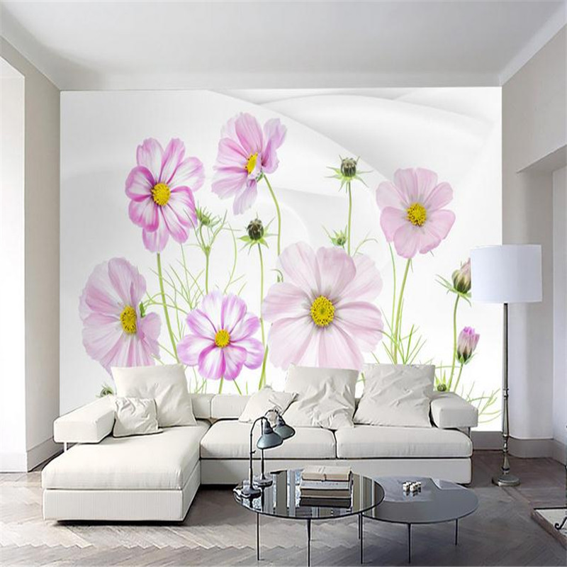 custom 3d modern high quality photo wallpaper large study room living room bedroom background wall mural fresh flower wallpaper custom photo wallpaper high quality wallpaper personality style retro british letters large mural wall paper for living room